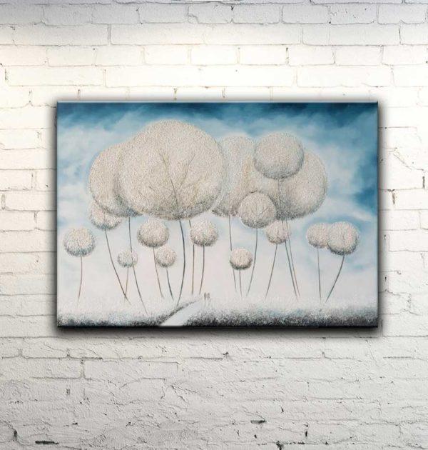 картина Одуванчики