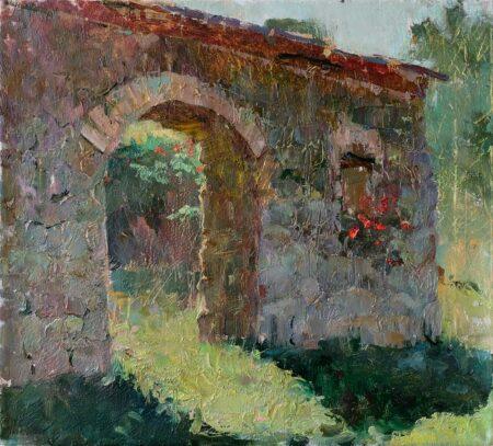 """Картина """"Забытая арка в Алтуне"""" 45х50"""