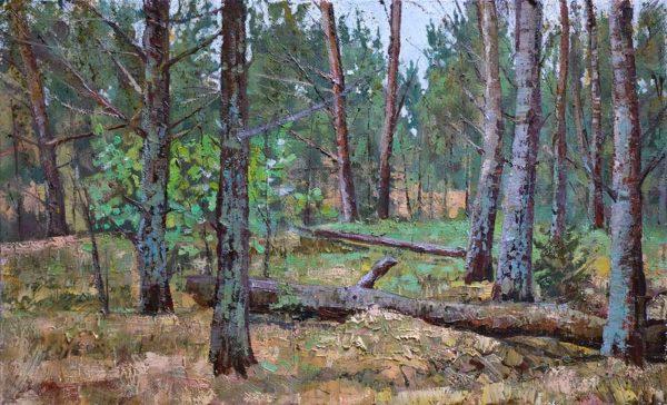 """Картина """"Волшебный лес"""" 40х65"""