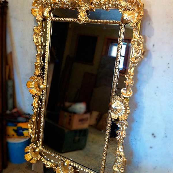 Реставрация рамы зеркала