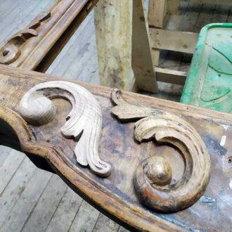 Восстановление резьбы для рамы зеркала