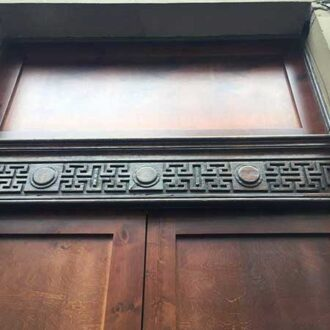 Реставрация дубовых дверей