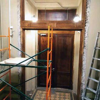 Реставрация дверных коробок