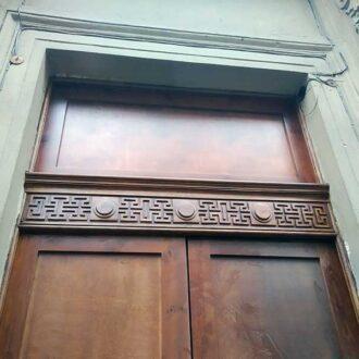 Реставрация исторических дверей