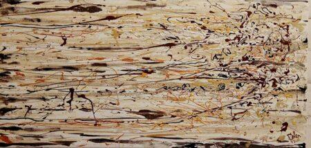 Картина Чашка капучино. 30х60. холст, акрил.