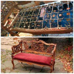 Реставрация дивана