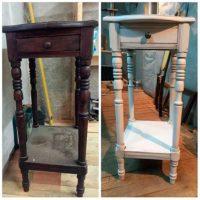 Реставрация столик