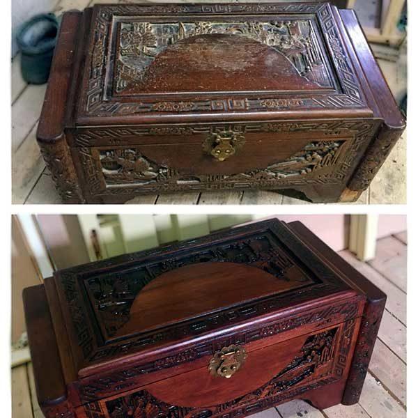 Реставрация деревянных изделий