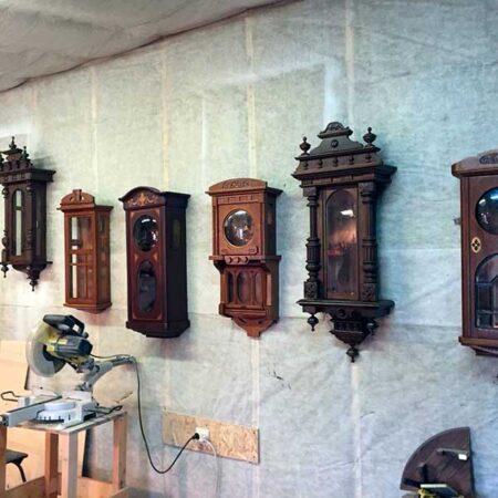Реставрация деревянных часов