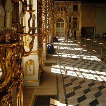 Реставрация паркета Екатерининский дворец