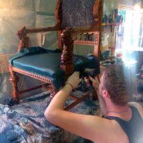Мастер-класс по реставрации мебели