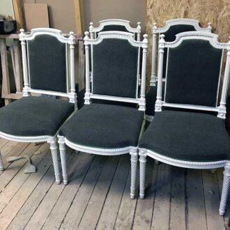 Реставрация старинного кресла